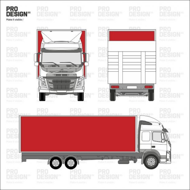 Lastbil kasse/hænger indpakning